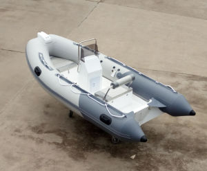 Aqualand 14feet 4.2m Rib Motor Boat/Inflatable Fishing Boat (RIB420A) pictures & photos