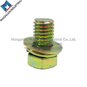 Carbon Steel, Stainless Steel/Square Head Bolt with Hex Nut and Washer pictures & photos