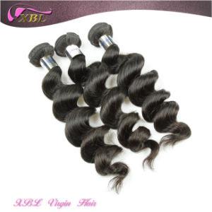 Top Quality Hair Weave Grade 7A Peruvian Hair Bundles pictures & photos