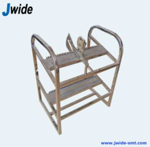 Stainless Steeel Feeder Rack Trolley for FUJI Cp6 Feeders pictures & photos