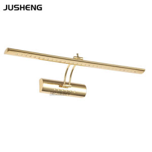 Golden Stainless Steel Mirror Light, Bathroom Lamp with CE