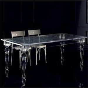 Modern Glass Table and Chair Made in China