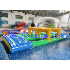 Inflatable Water Trampoline Plunge Slide/Grade PVC Tarpaulin Inflatable Water Slide Used in Water Park pictures & photos