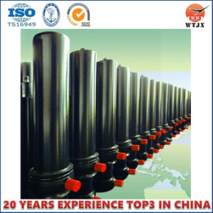 Multi-Stage Telescopic Single Acting Hydraulic Cylinder for Dump Truck/Trailer pictures & photos