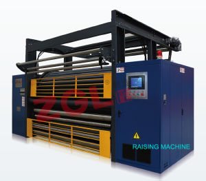 Textile Fabric Raising Machine for Blanket Velvet Coral Fleece pictures & photos