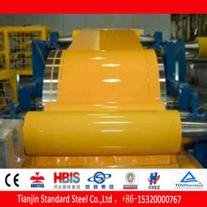 Hot Dipped Galvanized Steel PPGI Coils Ral 1021 Rape Yellow in Stock pictures & photos