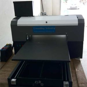 A3 600mm Size Flat Plastic PVC Outdoor Eco Solvent Printer