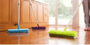 Telescopic Chenille Microfiber Double Sides Flat Mop for Easy Cleaning pictures & photos