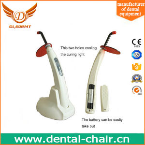 Foshan High Efficiency Rechargeable Dental Curing Light Gd-080 Multicolor pictures & photos