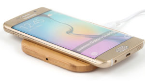 Bamboo Wireless Charger for iPhone Samsung S7 pictures & photos