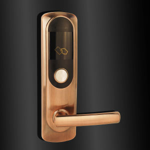 Keyless RF Card Reading Door Lock pictures & photos