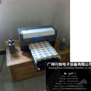 Direct Flatbed A3 Textile Printer Tshirt Printer with Six Color