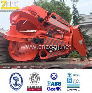 Electric Hydraulic Orange Peel Grab for Scrap Steel pictures & photos