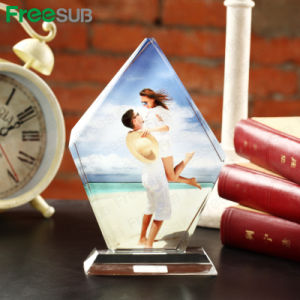 Freesub China Crystal Trophies Blank Crystal Frame Crystal Gifts for Sublimation 120*190*40mm Bsj10A pictures & photos