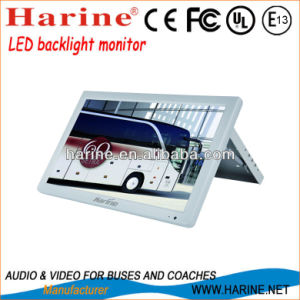 19.5inch Manual LED Backlight LCD Monitor for Car pictures & photos