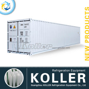 4000kg Containerized Block Ice Machine with 10kg Ice Block pictures & photos