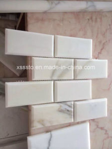 Beautiful Carrara White Marble Mosaic for Bathroom pictures & photos