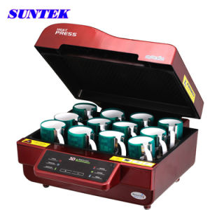 3D All in One Combo Sublimation Heat Press Machine (ST-3042) pictures & photos