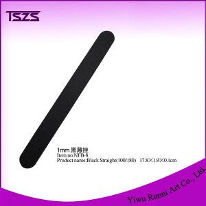 Thin Black Straight Nail File