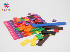 Education Mathematics Toy and Products Fraction Bars and Decimal Tiles (K048) pictures & photos