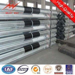 Q235 Q345b Octagonal Steel Pole Power Pole pictures & photos