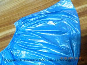LR08C Disposable Plastic PE Shoe Cover Making Machine pictures & photos