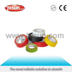 PVC Adhesive Insulating Tape in Different Colors pictures & photos