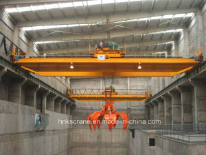 Double Beam Overhead with Grab Charging Crane pictures & photos