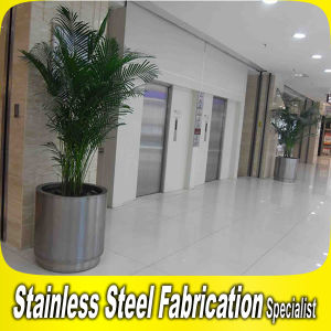 Large Indoor Design Stainless Steel Flower Pot Planter Pot pictures & photos