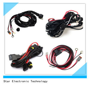 New Style Switch and Relay Socket Auto Vehicle LED Light Wire Harness pictures & photos
