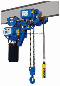 Super-Low Lifting Loop Electric Chain Hoist From China pictures & photos