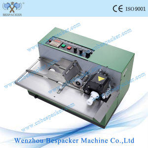 Metal Semi-Auto Electrial Date Printing Coding Machine pictures & photos