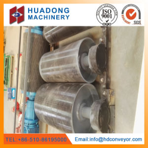 Large Capacity Rubber Lagging Head Pulley for Conveyor System pictures & photos