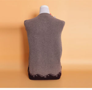 Women′s Yak Wool/Cashmere Round Neck Cardigan Coat/Sweater/Clothes/Knitwear/Garment pictures & photos