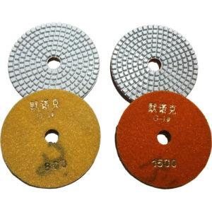 4 Inch Diamond Dry Polishing Pad Flexible Floor Polishing Pads pictures & photos