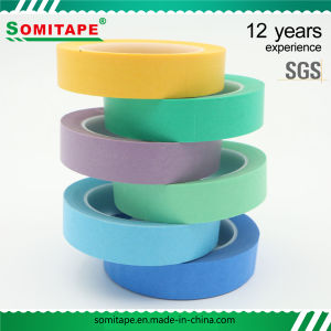 Sh316 Crepe Masking Tape for Car Care Painting Masking Somitape pictures & photos