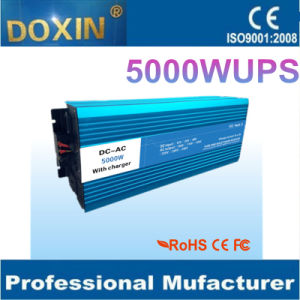 Water Pump 24V 220V 1 Phase with Inverter Charger 5kw UPS Pure Sine Wave Inverter pictures & photos