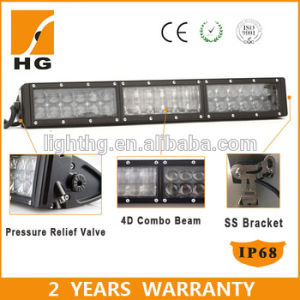Factory Price New Phillips 7W Chips 4D LED Light Bar 52inch 672W LED Light Bar pictures & photos