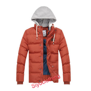 Men New Design Hoody Light Color Leisure Outdoor Winter Jacket (J-1608) pictures & photos