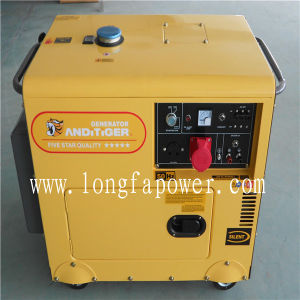 8kVA Lonfa Three Phase Silent Electric Diesel Generator pictures & photos