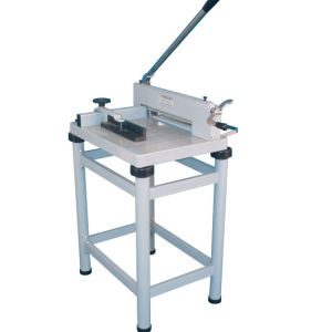 Paper Cutting Machine with Stander Paper Trimmer Guillotines (WD-858A4) pictures & photos