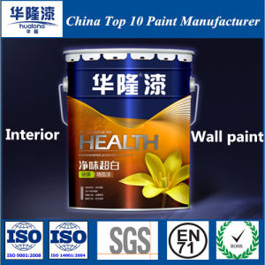 Hualong Environmental Air Clean Interior Super White Emulsion Wall Paint pictures & photos