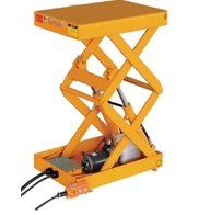 Mobile Scissors Table (HG-1070) pictures & photos