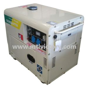 Portable Silent Diesel Generator with Wheels for Home Use pictures & photos