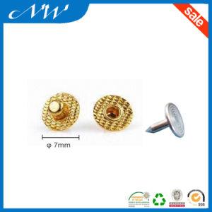 Golden Color Metal Nipple up Rivet pictures & photos