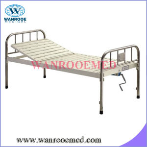 Bam103 Stainless Steel Single Crank Hospital Bed pictures & photos