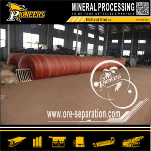 Iron Limonite Chromite Tungsten Tin Tantalum Niobium Mineral Spiral Separator pictures & photos