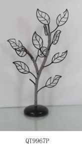 15qt2168-3 Crystal Pedestal Metal Earring Tree Stand Holder Jewelry Display pictures & photos