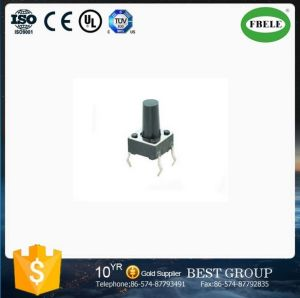 Tact Switch, Tactile Switch with 2pins, 2 Pin Micro Push Button Square Stem Tactile Push Button Switch pictures & photos