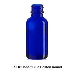 1oz Blue E Liquid Glass Bottle with Dropper Cap Wholesale pictures & photos